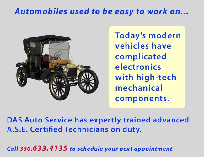 DAS Auto Service, Engine & Electrical Diagnostics, Custom
